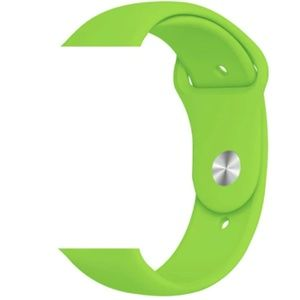 NEW Green Sport Silicone Band For Apple Watch